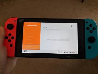 Code Redeem Card Nintendo Switch Gift Eshop