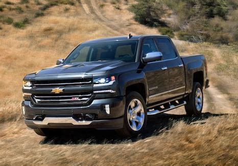 Chevy's 2018 Truck Lineup