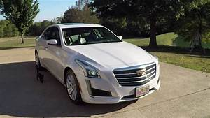 HD VIDEO 2015 CADILLAC CTS LUXURY PEARL WHITE USED FOR