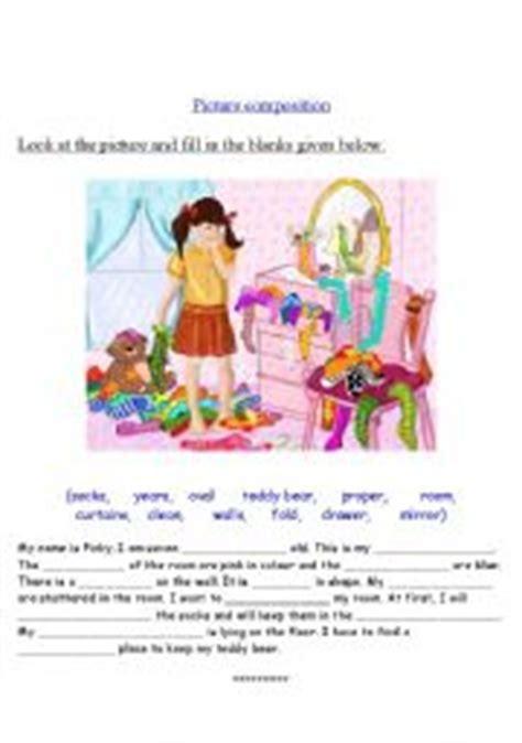 picture composition esl worksheet by vighnajith