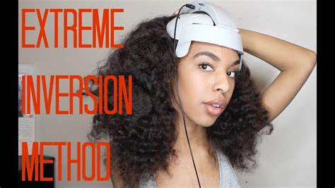 How to: Inversion Method + Head Massager for fast Hair