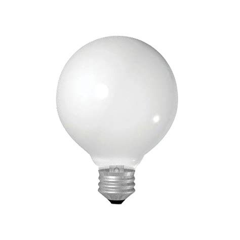 ge 25 watt incandescent g25 globe soft white