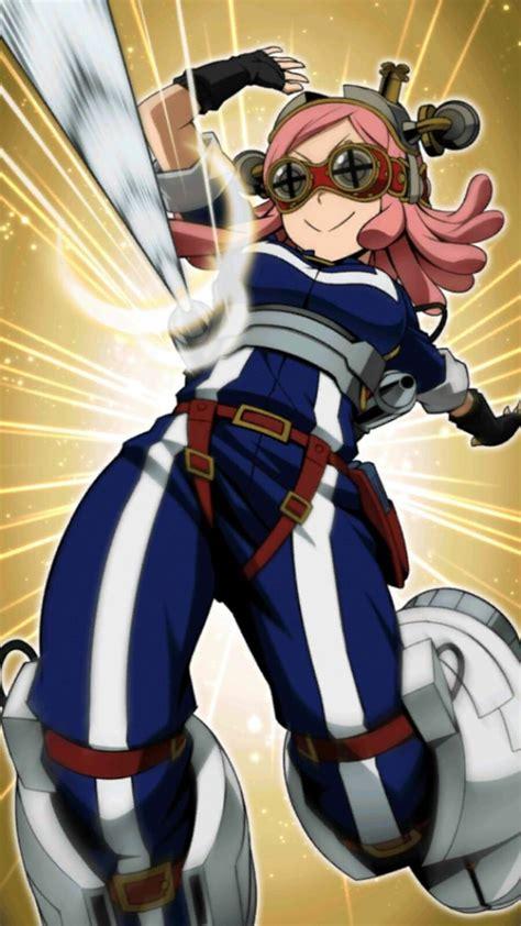 hero academia smash tap hatsume mei mei hatsume