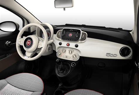 Tappezzeria Fiat 500 Lounge Fiat 500c D Salmon Cars Ltd Colchester