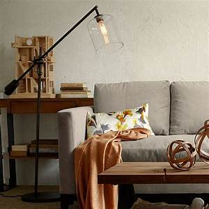 20 rooms with modern floor lamps that steal the show for Diy glass floor lamp