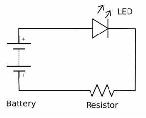 simple led series circuit schematics get free image With led circuit series sample series circuit
