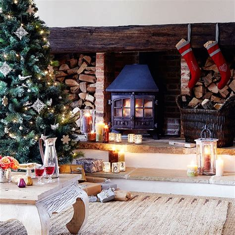 country homes and interiors christmas country christmas decorating ideas housetohome co uk
