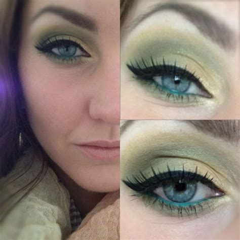 inspired  nature gorgeous makeup     love green
