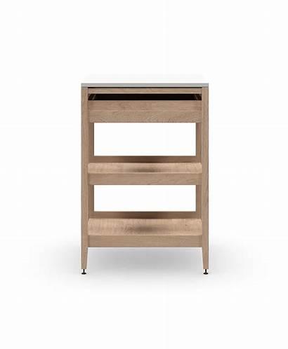 Shelves Cabinet Wood Kitchen Radix Drawer Base