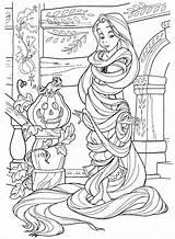 Rapunzel Coloring Disney Adult Adults Princess Colorare Disegni Halloween Rocks Principessa Tangled Colorear Colorir Zen Malvorlagen Colouring Adulti Princesas Libri sketch template