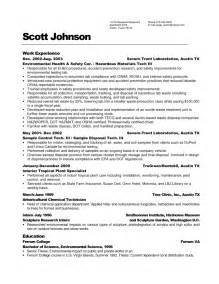 resume objective for entry level engineer job maintenance resume objective exles recentresumes com