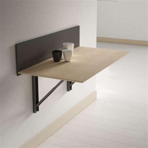 table pliante murale contemporaine click 4 pieds