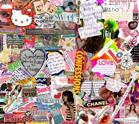beautiful collage  lizlovespink  deviantart