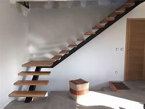 Escalier Droit Bois : escalier bois quart tournant droit fashion designs ~ Premium-room.com Idées de Décoration
