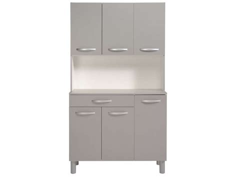 buffet meuble cuisine buffet de cuisine spoon color gris vente de buffet de