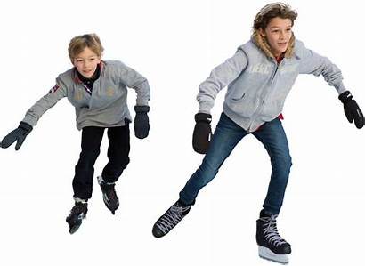 Skating Ice Transparent Boy Skaters Child Pngio