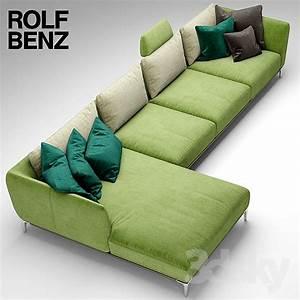Sofa Rolf Benz : 3d models sofa sofa rolf benz scala ~ Buech-reservation.com Haus und Dekorationen