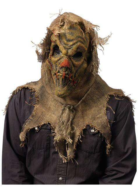 scarecrow gunny sack mask scarecrow scarecrow costume
