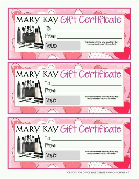 give   mary kay gift