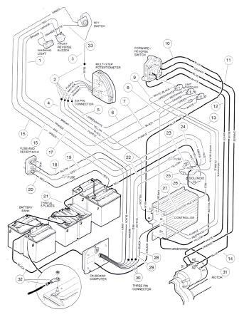 wiring diagram ref relays numbers