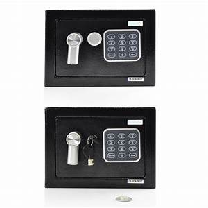 New  Compact Electronic Safe Box With Mechanical Override