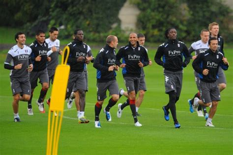 Fulham Training » Who Ate all the Pies