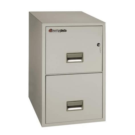 sentry fireproof file cabinet sentry 2t3131 2 drawer letter file cabinet with fire