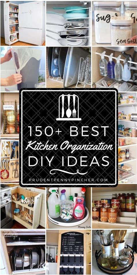 Can I Buy A Kitchen Pantry by 150 Diy Kitchen Organization Ideas Kitchen Helps
