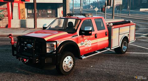 Mtl Fire Truck Replace For Gta 5