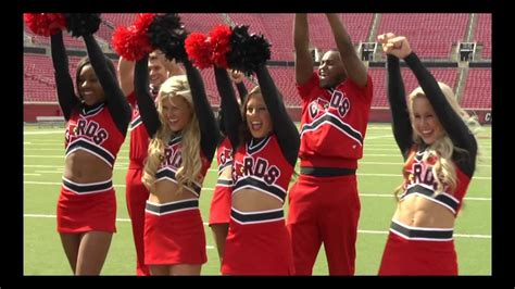 Behind the scenes video of UofL congratulating Glee's ...