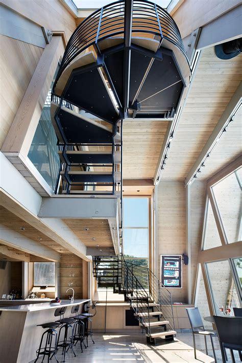 a frame house plans home interior design gallery of a frame rethink bromley caldari architects 2