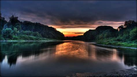 Hd Wallpapers Widescreen 1080p 3d Donau Sunrise 1080p