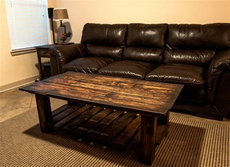 coffee table made out of pallet wood pallet wood coffee table got wood workshop