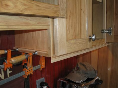 Installing Mold Cabinets by Installing Molding For Cabinet Lighting A Concord