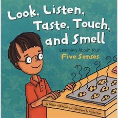 Five Sense Books For Kids  The Crafting Chicks