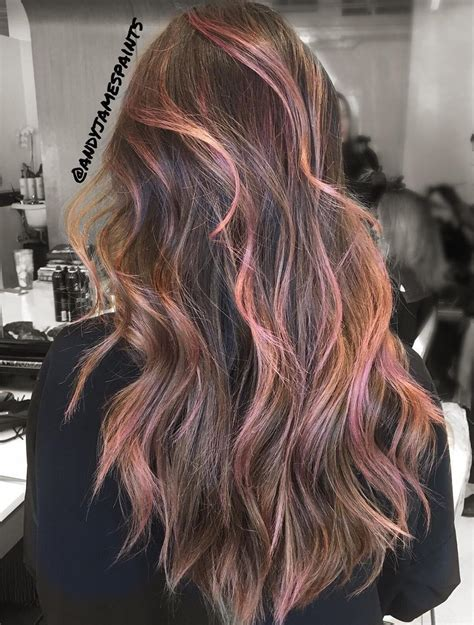 light pink highlights 45 light brown hair color ideas light brown hair with