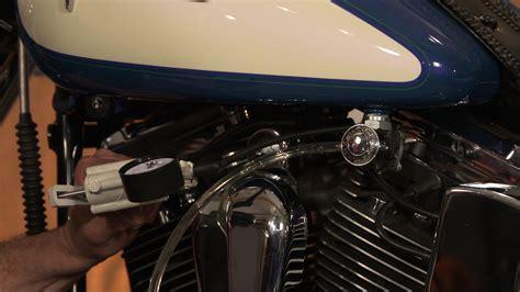 Draining An Evo's Vacuum Operated Harley Fuel Valve