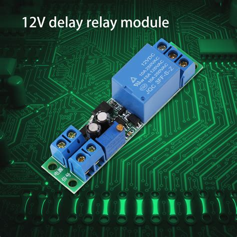 Signal Trigger Delay Turn Off Timer Switch