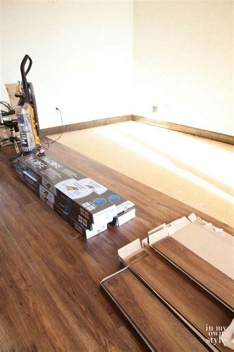 nucore waterproof luxury vinyl plank flooring