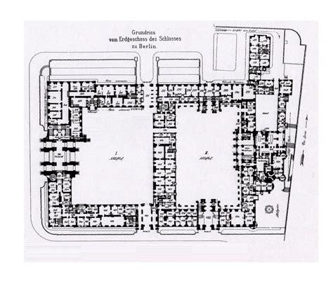 royal palace berlin  ground floor plan