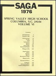 Explore 1976 Spring Valley High School Yearbook, Columbia ...