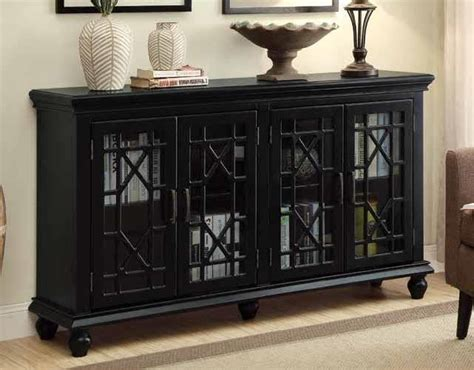 Black Accent Cabinet by Traditional Black Accent Cabinet 950639 Accent