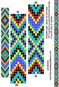 Free Native American Loom Beading Bracelet Patterns