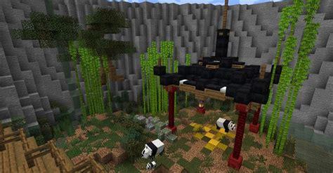 panda exhibit   zoo im making minecraft amazing minecraft minecraft