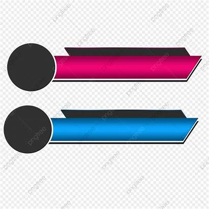 Lower Third Banner Templates Background Clipart Graphics