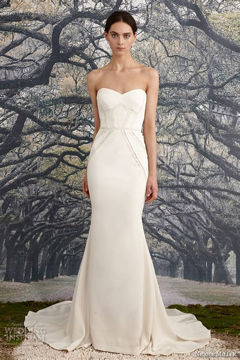 nicole miller bridal spring  wedding dresses wedding