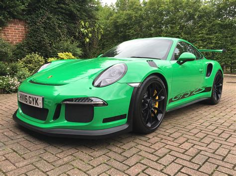 2018 Rs Green Porsche 911 Gt3 Rs For Sale At 321000 In