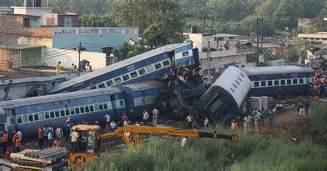 Train Crash In Uttar Pradesh, India, Kills At Least 23 And
