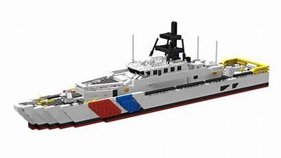 Moc Coast Guard Cutter Response Fast Frc