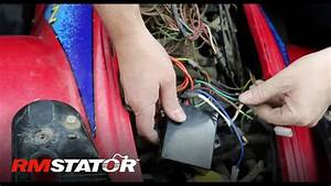 How To Install A Polaris Stator  U0026 Cdi Ignition Upgrade Kit For 1995